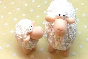 آموزش ساخت گوسفند با خمیر پلیمری