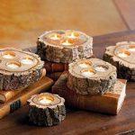 آموزش ساخت جاشمعی چوبی با چوب های دور ریختنی