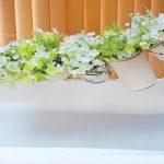 ساخت گلدان با قوطی های دور ریختنی