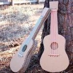 آموزش ساخت گیتار کارتنی برای کودکان