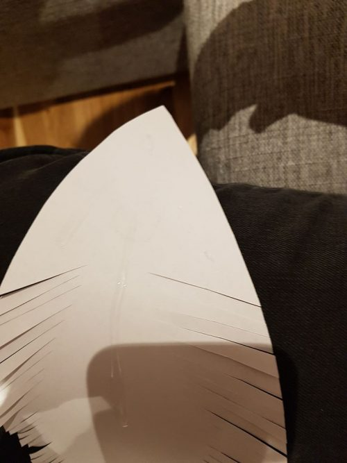 لوستر کاغذی