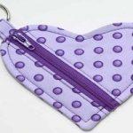 آموزش دوخت کیف هندزفری قلبی شکل زیبا