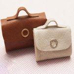آموزش مرحله به مرحله دوخت کیف چرمی مینیاتوری