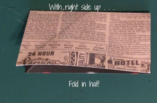 ساخت سبد کاغذی