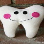 آموزش ساخت کاردستی دندان با وسایل ساده برای کودکان
