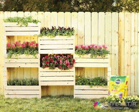 ساخت باغچه دیواری