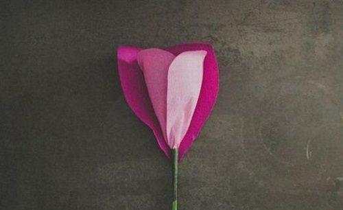 ساخت گل رز با کاغذ