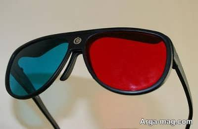 ساخت عینک سه بعدی