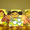 ساخت کاردستی فرشته با لیوان یکبار مصرف