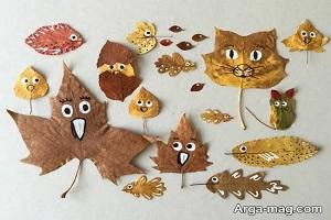 کاردستی فصل پاییز برای کودکان بسازید