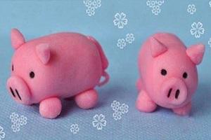 آموزش ساخت خوک با خمیر مجسمه سازی