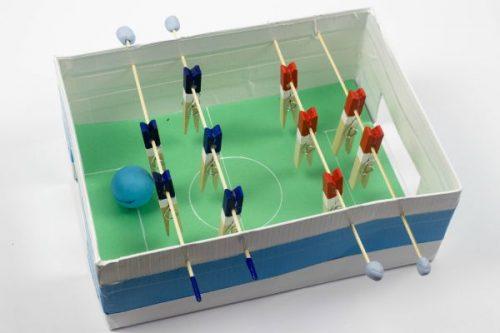 ساخت فوتبال دستی
