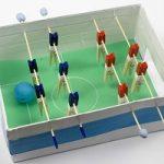 شیوه ساخت فوتبال دستی با استفاده از مقوا