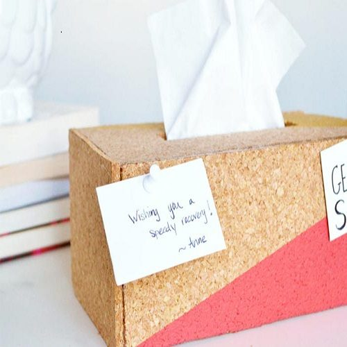 نحوه ساخت جعبه دستمال کاغذی زیبا
