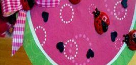 ساخت کاردستی شب یلدا برای بچه ها