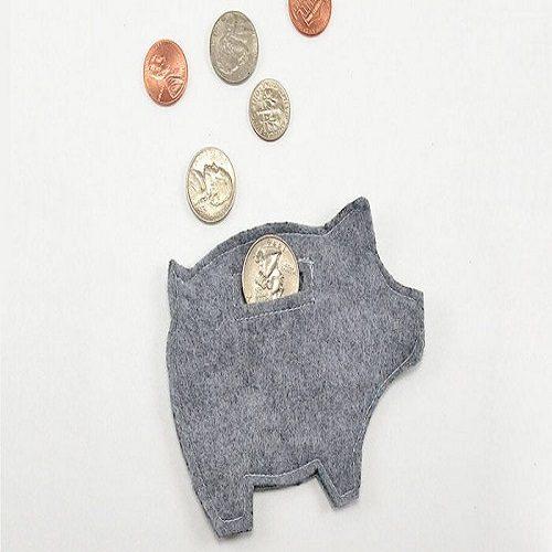 دوخت کیف پول نمدی ساده و شیک