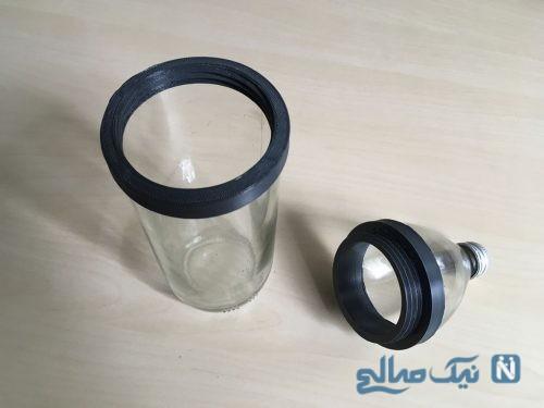 ساخت ظرف حبوبات