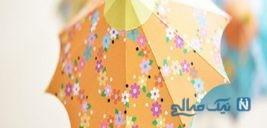آموزش ساخت چتر تزیینی زیبا