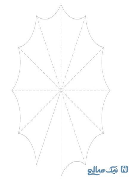 ساخت چتر تزیینی