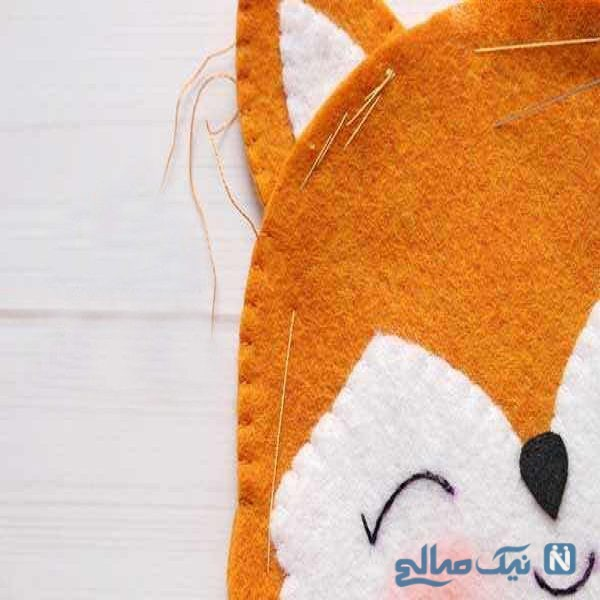 دوخت عروسک نمدی روباه