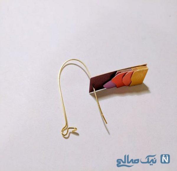 گوشواره کاغذی