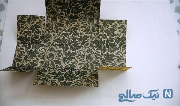 ساخت جعبه کاغذی