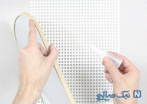 ساخت آینه دیواری