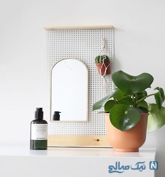 آموزش ساخت آینه دیواری تزیینی با وسایل ساده