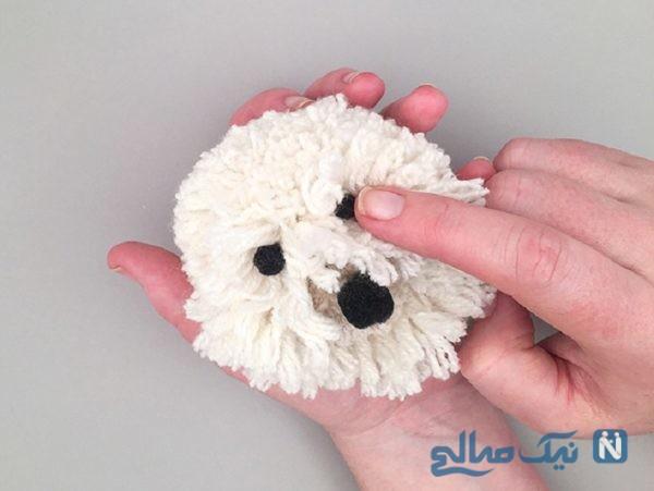 ساخت عروسک سگ
