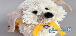 ساخت عروسک سگ پشمالو با پوم پوم