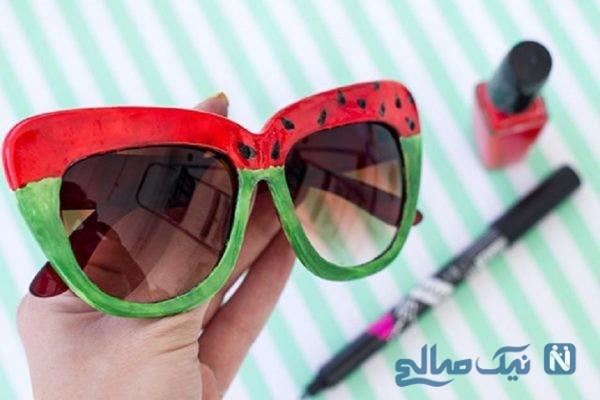 آموزش ساخت عینک آفتابی