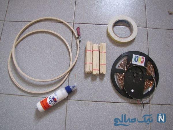 آموزش ساخت لامپ