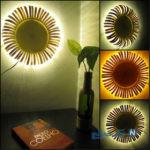 آموزش ساخت لامپ به شکل گل آفتابگردان