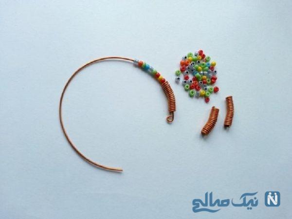 ساخت دستبند سیمی