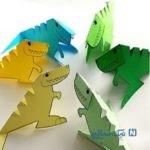 آموزش ساخت کاردستی دایناسور جدید