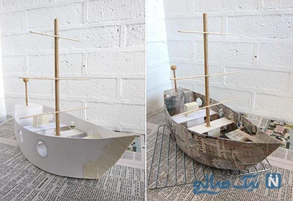 ساخت قایق بادبانی