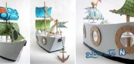 آموزش ساخت قایق بادبانی با وسایل ساده