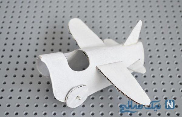 آموزش ساخت هواپیمای کاغذی