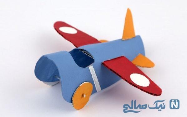 ساخت هواپیمای کاغذی در کمترین زمان ممکن