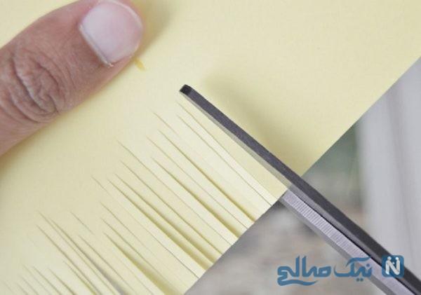 آموزش ساخت گل کاغذی