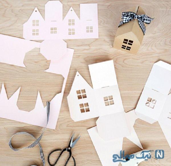 ساخت کاردستی جعبه کادو