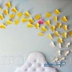 آموزش ساخت پروانه کاغذی تزیینی + تصاویر