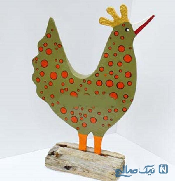 ساخت عروسک مرغ