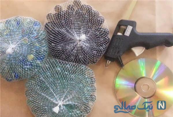 ساخت جاشمعی با سی دی