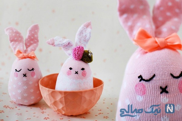 آموزش ساخت خرگوش زیبا با وسایل ساده+تصاویر