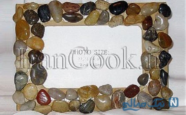کاردستی با سنگ
