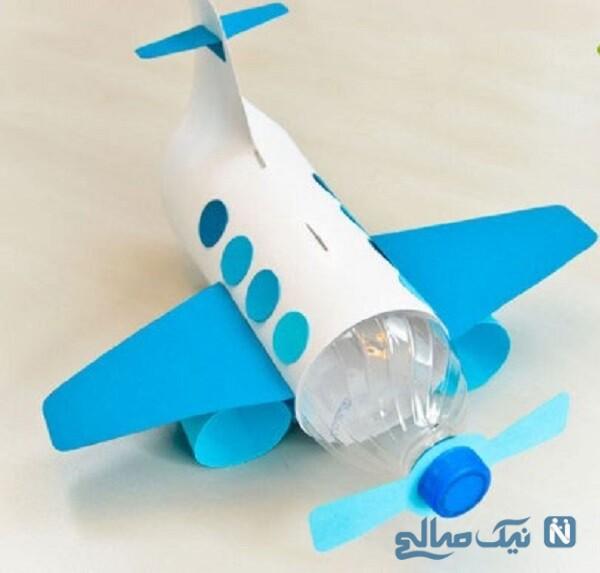 هواپیما با بطری