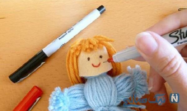 ساخت عروسک بافتنی