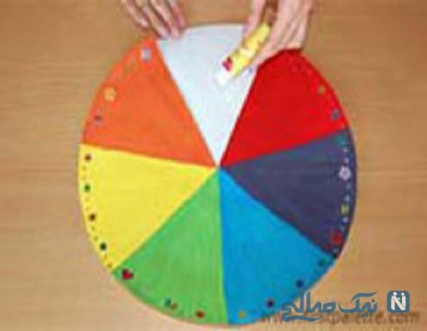 ساخت چتر رنگی