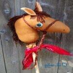 آموزش ساخت کاردستی اسب بسیار راحت با پارچه +تصاویر